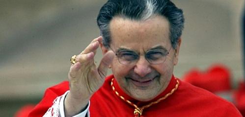 ©CRISTIAN GENNARI CITTA' DEL VATICANO 24-3-2006 PIAZZA S.PIETRO PRIMO CONCISTORO INDETTO DA SUA SANTITA' PAPA BENEDETTO XVI CHE CREA 15 NUOVI CARDINALI IMPOSIZIONE DELLA BERRETTA E L'ASSEGNAZIONE DEL TITOLO O DELLA DIACONIA S.E. CARD. CARLO CAFFARRA